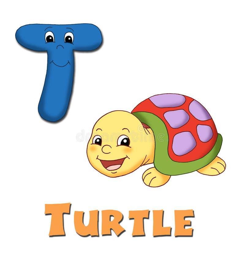 Letter T stock illustration