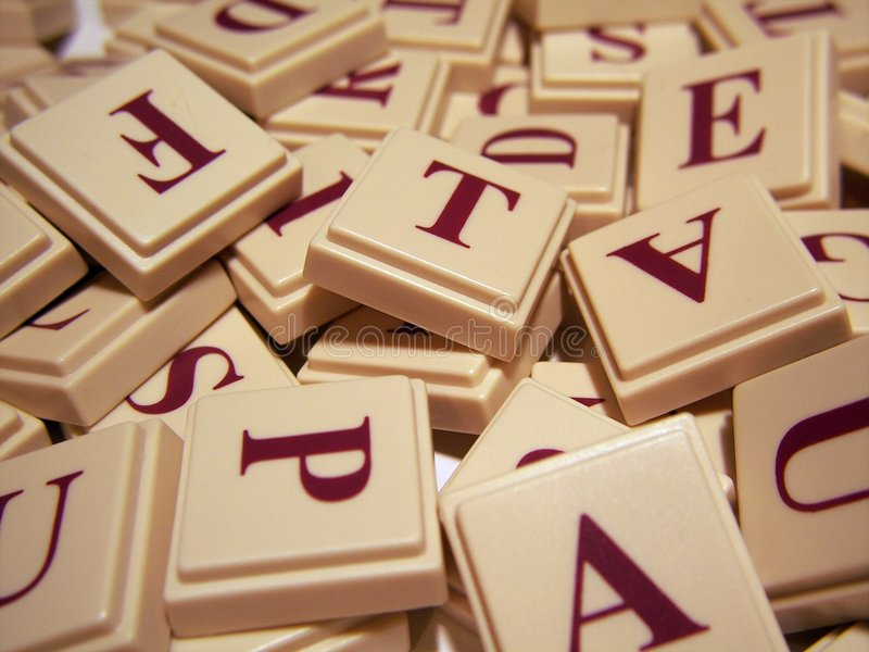 Download Letter Tile Jumble stock image. Image of alphabet, play - 491675