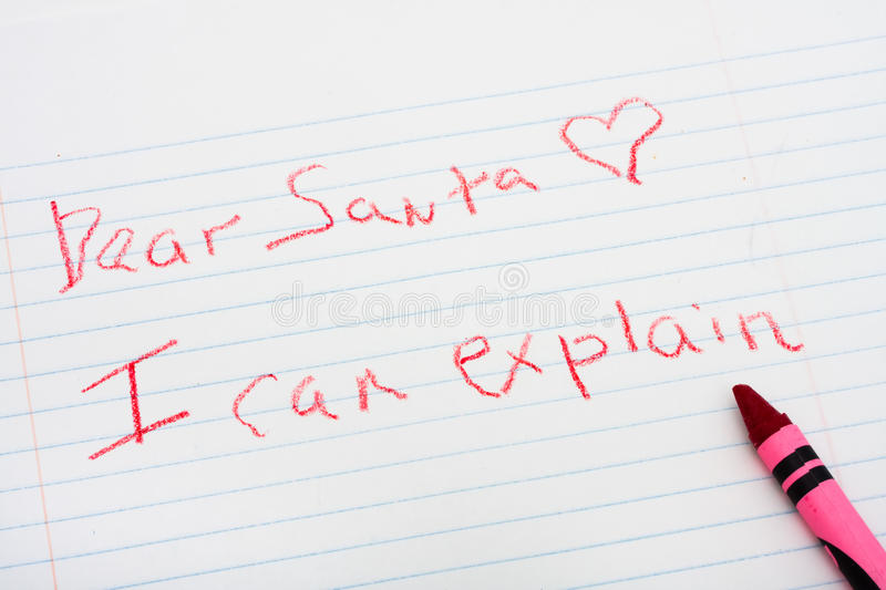 Download Letter To Santa Royalty Free Stock Photos - Image: 11079898