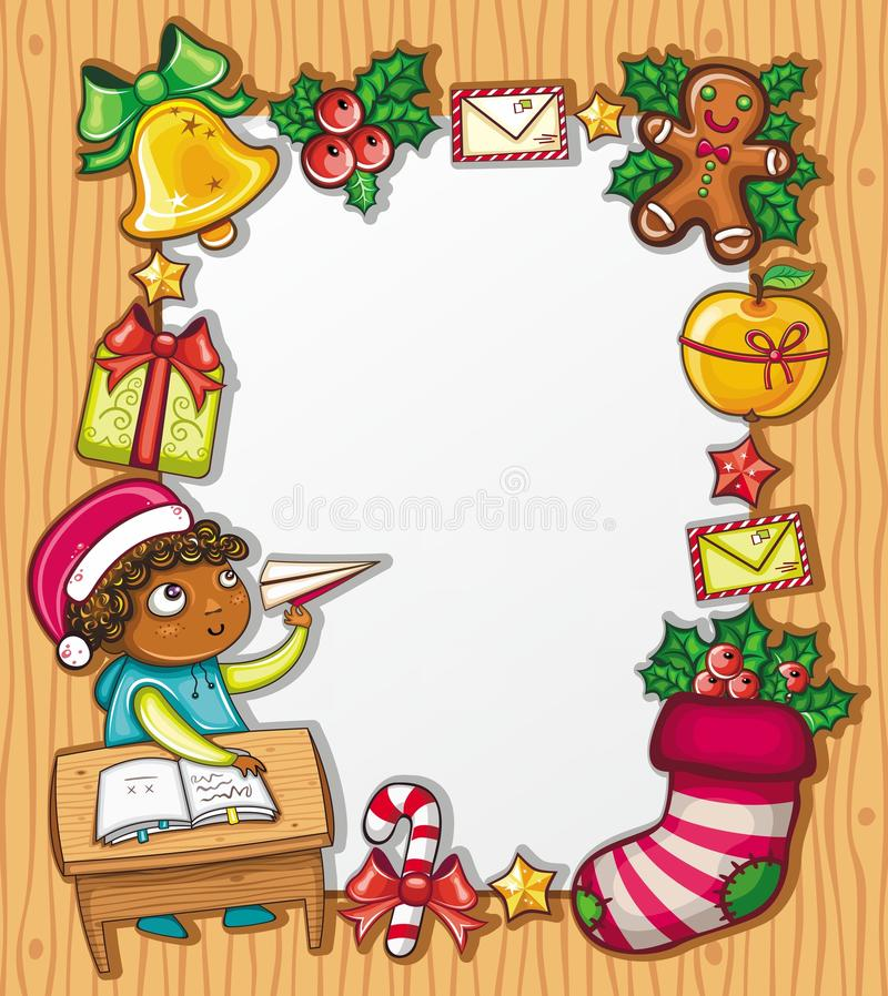 Letter To Santa Claus 2 Royalty Free Stock Images