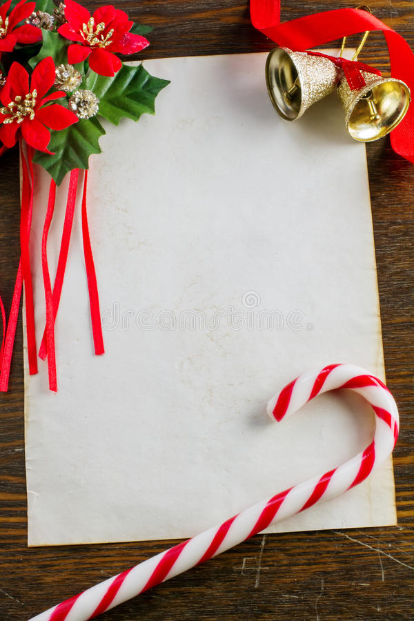 Letter to Santa Claus stock image. Image of christmas ...