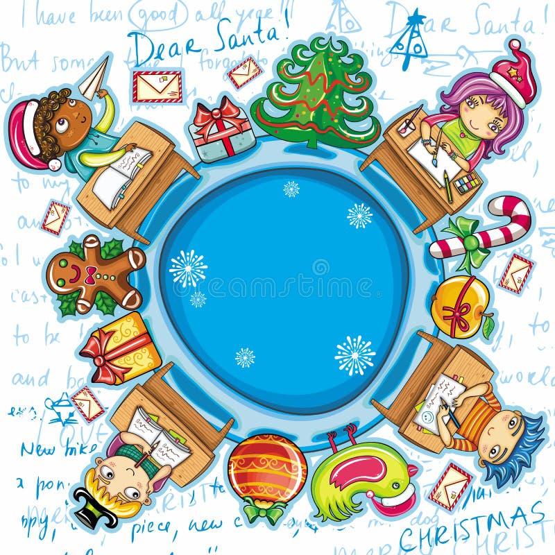 Letter to Santa series 2 stock photos