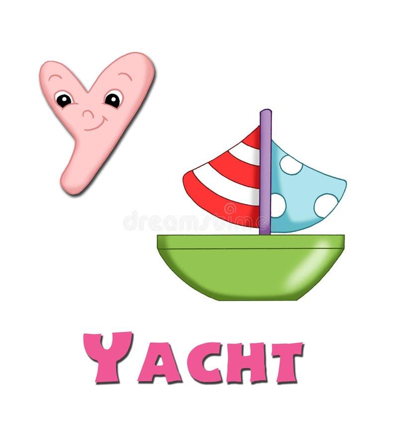 Letter Y stock illustration