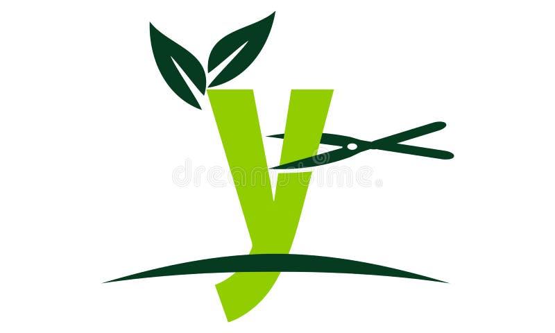 Letter Y Lawn royalty free illustration