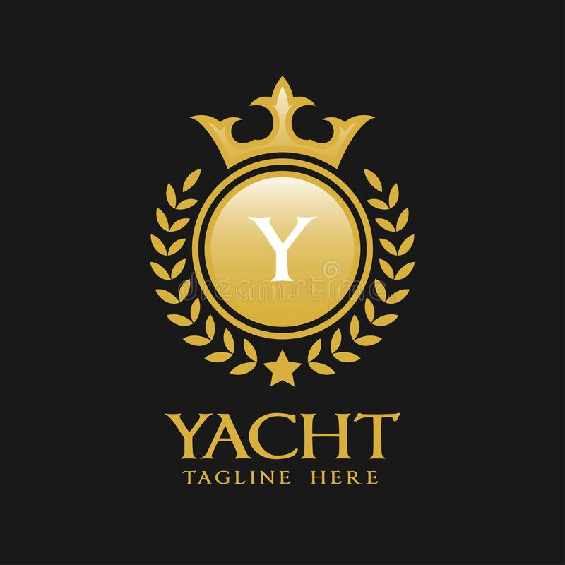 Letter Y Logo - Classic Luxurious Style Logo Template vector illustration