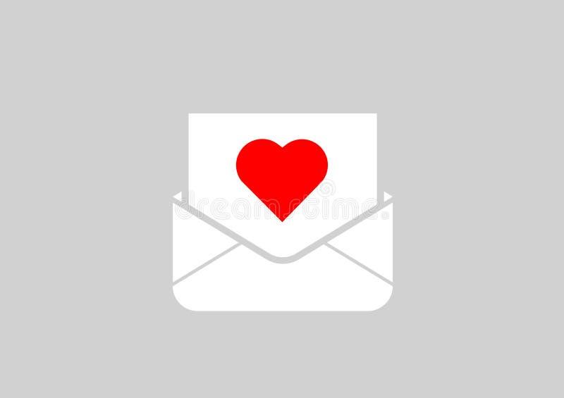 lettera al vostro caro royalty illustrazione gratis