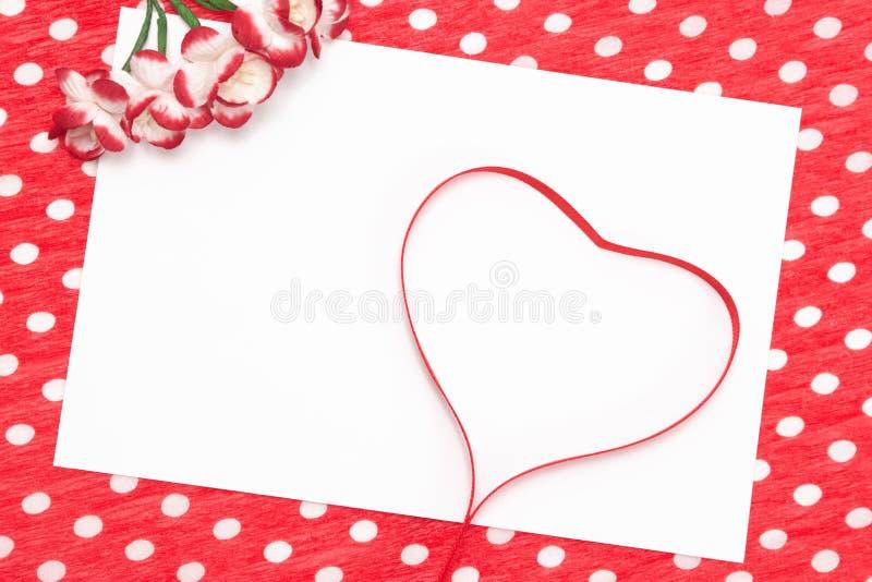 Lettera di amore, dichiarazione di amore fotografia stock libera da diritti