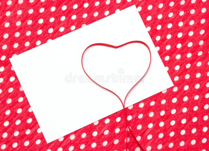 Lettera di amore, dichiarazione di amore immagini stock