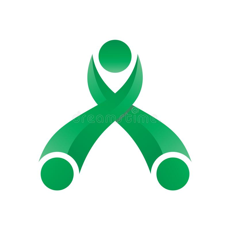 Lettera Logo Modern illustrazione di stock