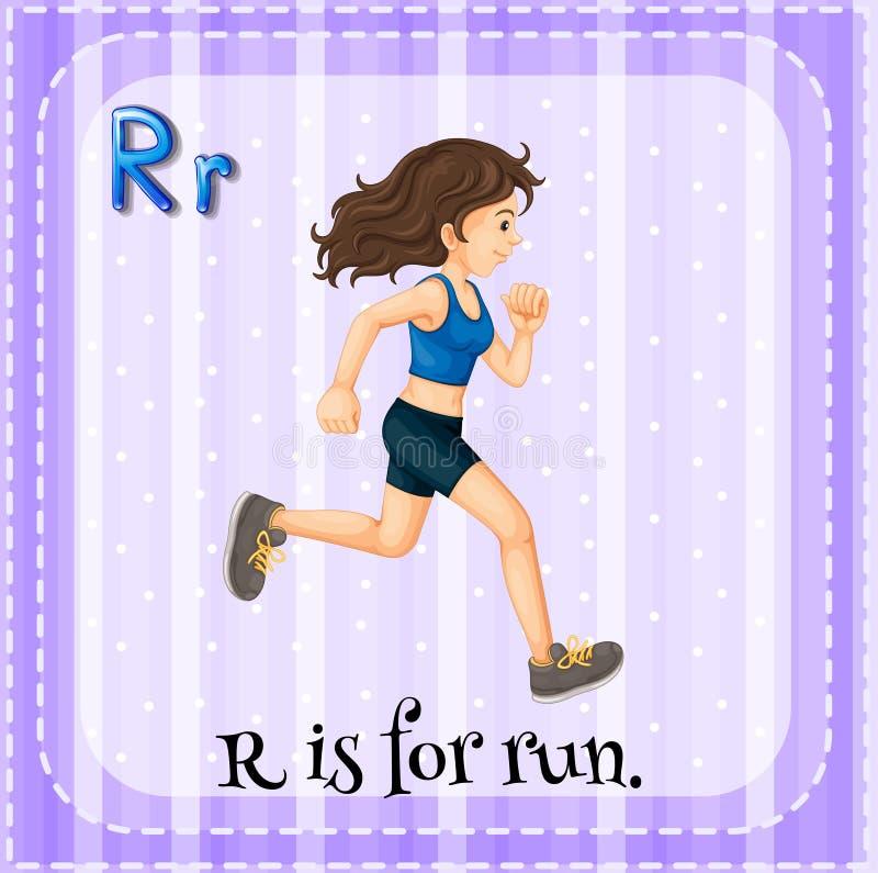 Lettera R royalty illustrazione gratis
