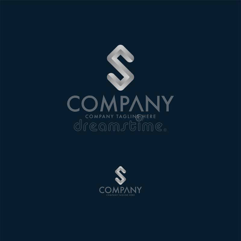 Lettera S creativa Logo Design Template royalty illustrazione gratis