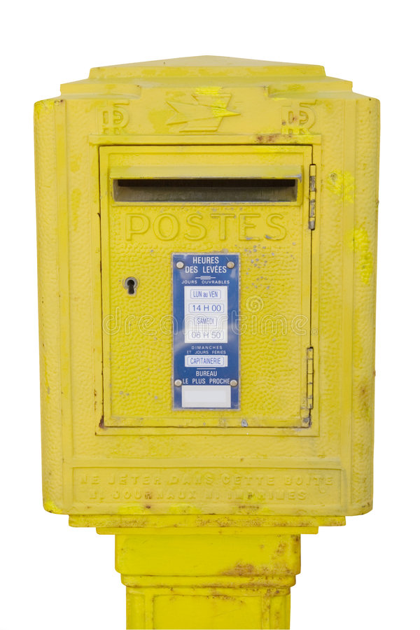 Letterbox images stock