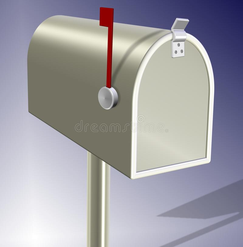 letterbox royalty ilustracja