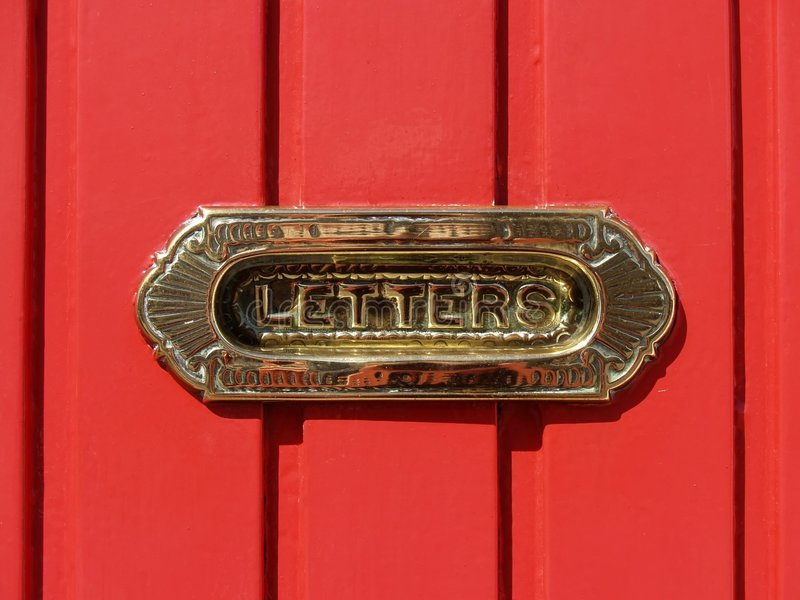 Letterbox stock image