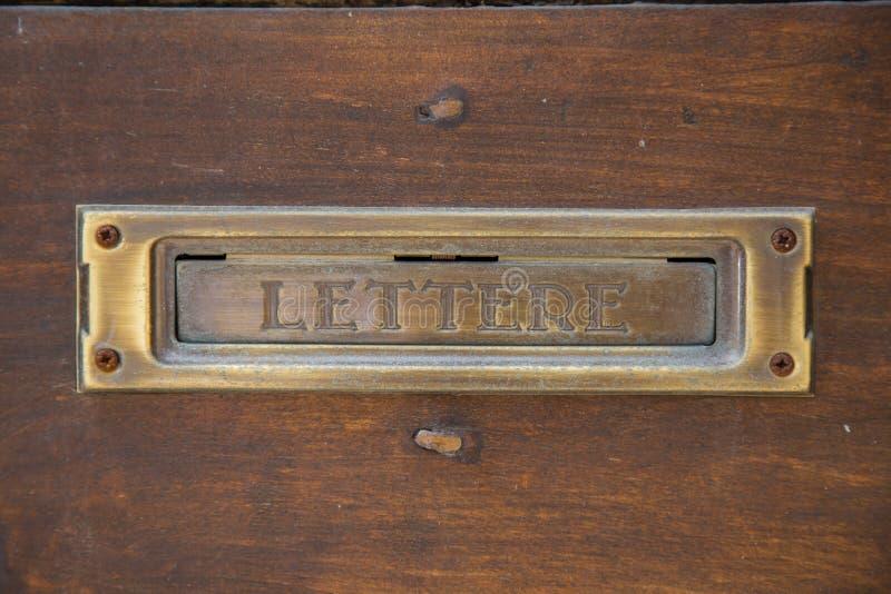 letterbox obraz royalty free