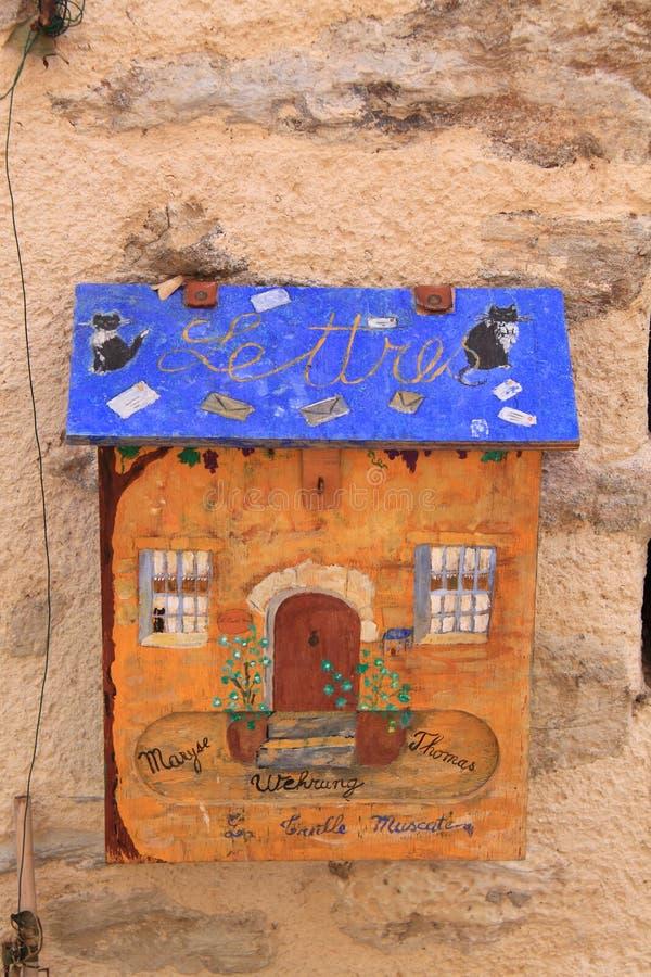 Letterbox della posta fotografia stock libera da diritti
