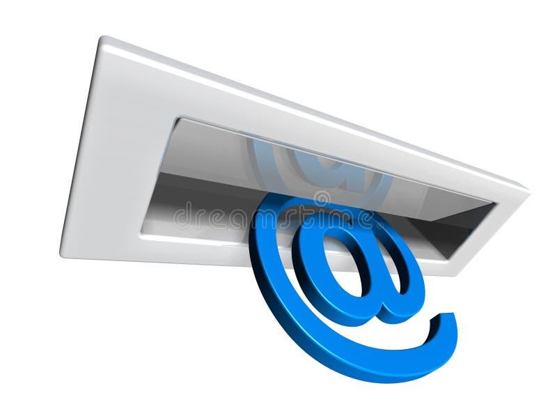 letterbox e иллюстрация штока