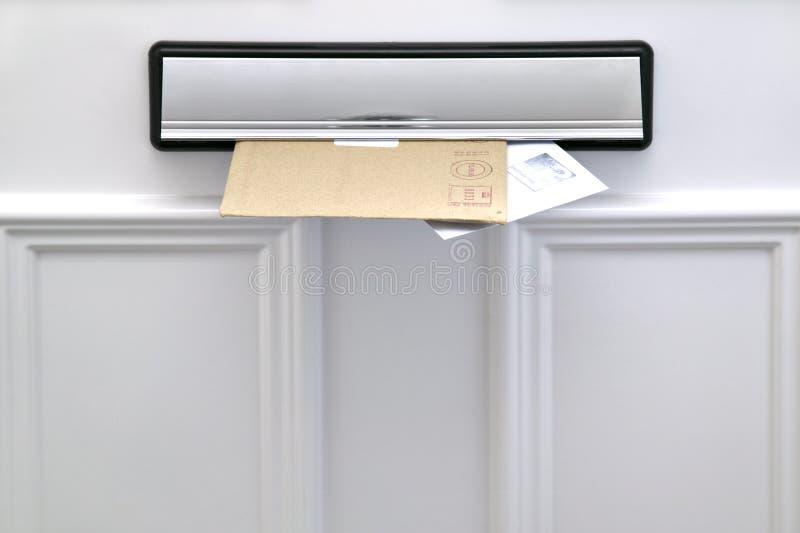 Letterbox e lettere fotografia stock libera da diritti
