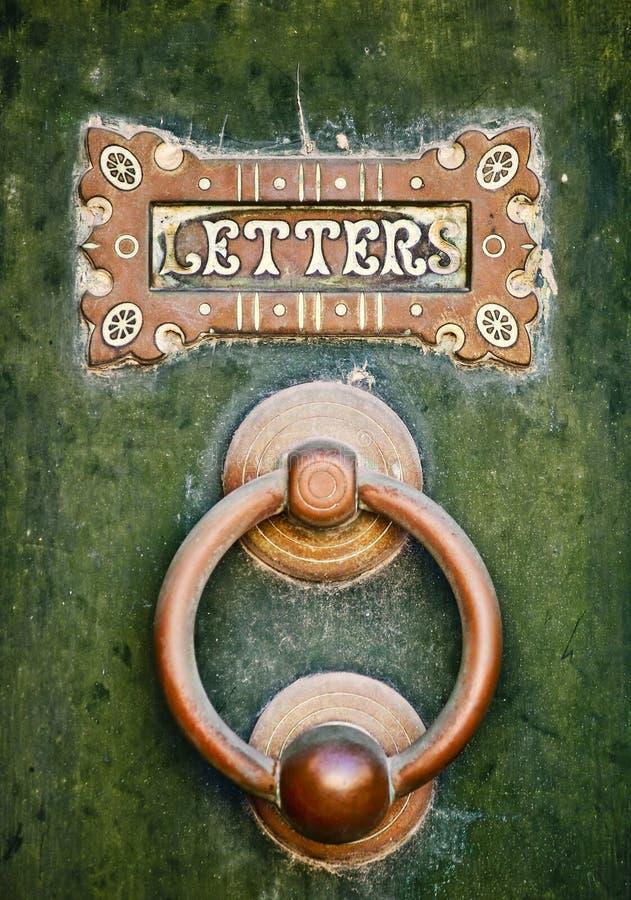 Lettere fotografia stock