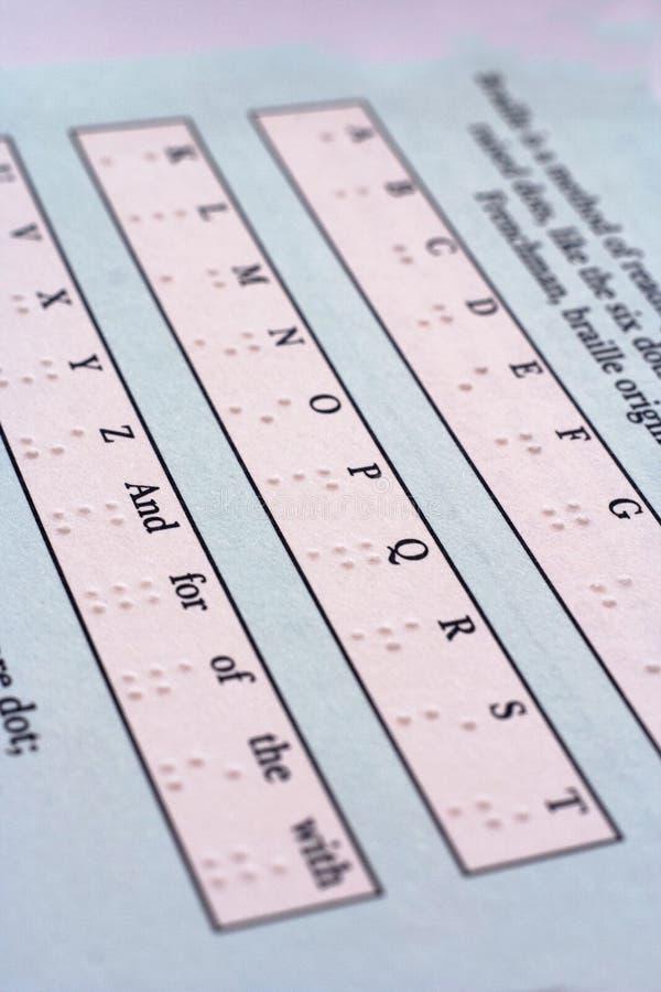 Download Lettere del Braille fotografia stock. Immagine di caratteri - 3125008