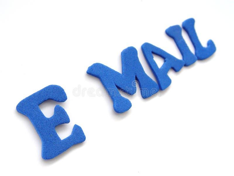 Lettere del email fotografia stock libera da diritti