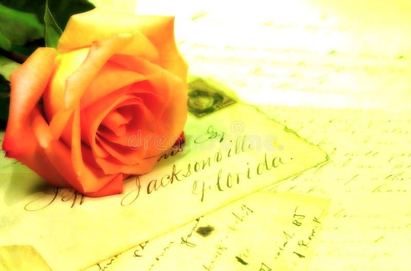 Lettere Di Amore 2 Immagini Stock