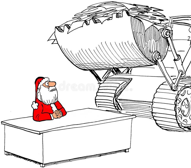 Lettere di Natale illustrazione di stock