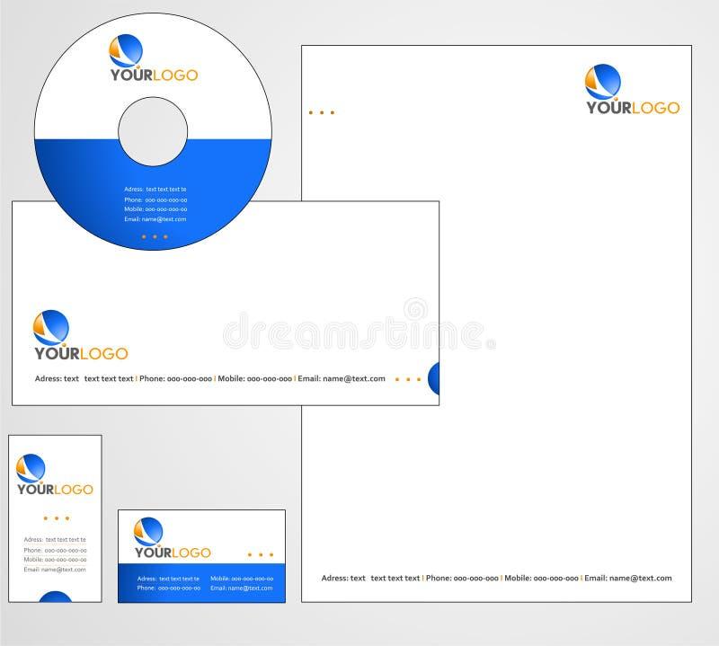 Letterhead Template design - vector. File