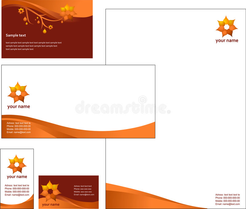 Letterhead template design vector stock vector illustration of download letterhead template design vector stock vector illustration of office clip 5552694 spiritdancerdesigns Image collections