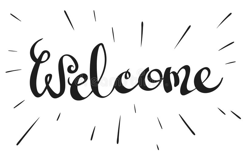 Word welcome ukrandiffusion lettering word welcome stock illustration illustration of m4hsunfo