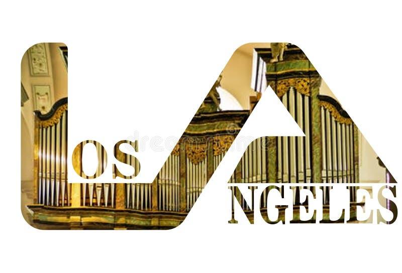 Lettermarks de typographie de logo des textes et masque de coupure image libre de droits