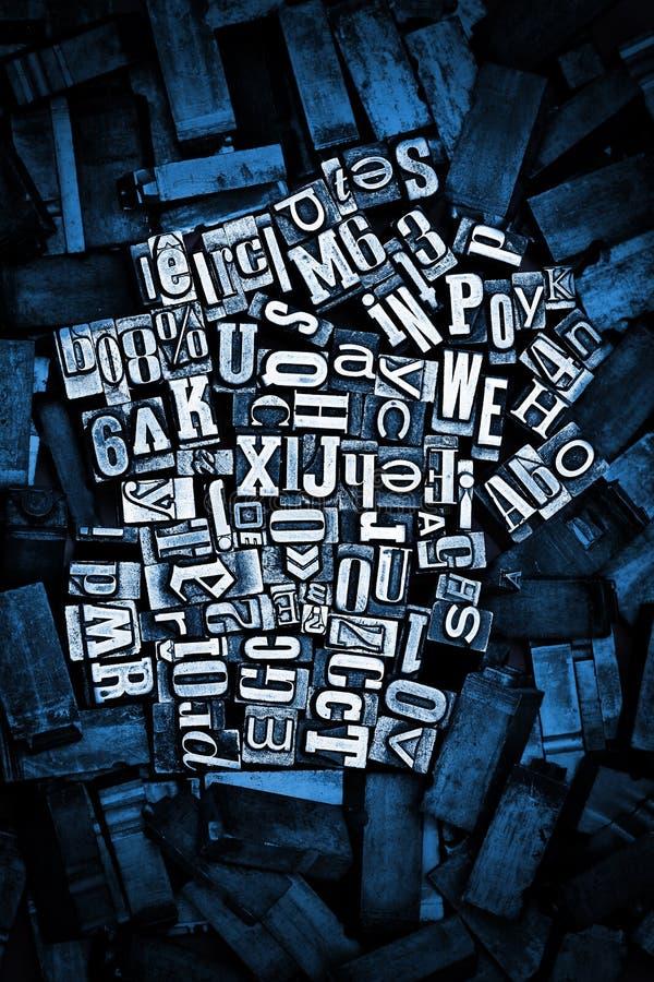 letterpress предпосылки стоковые фотографии rf