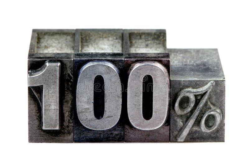 Letterpress 100% royalty free stock photography