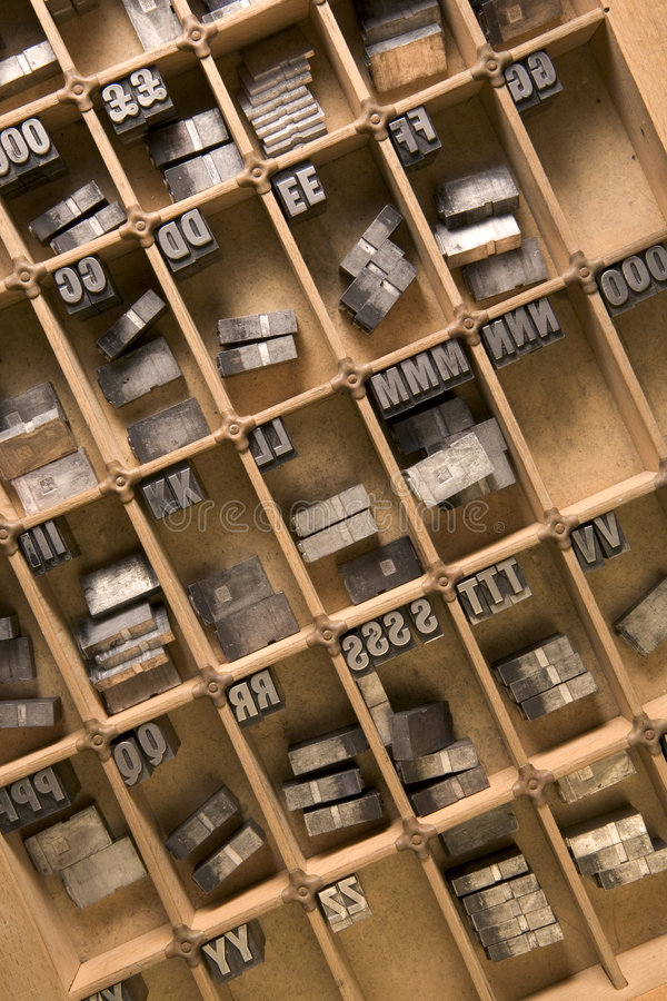 Download Letterpress tray stock image. Image of forms, alphabet - 3252119
