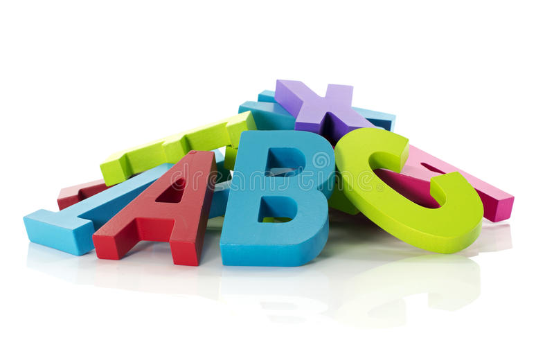 Letters From Alphabet Stock Image