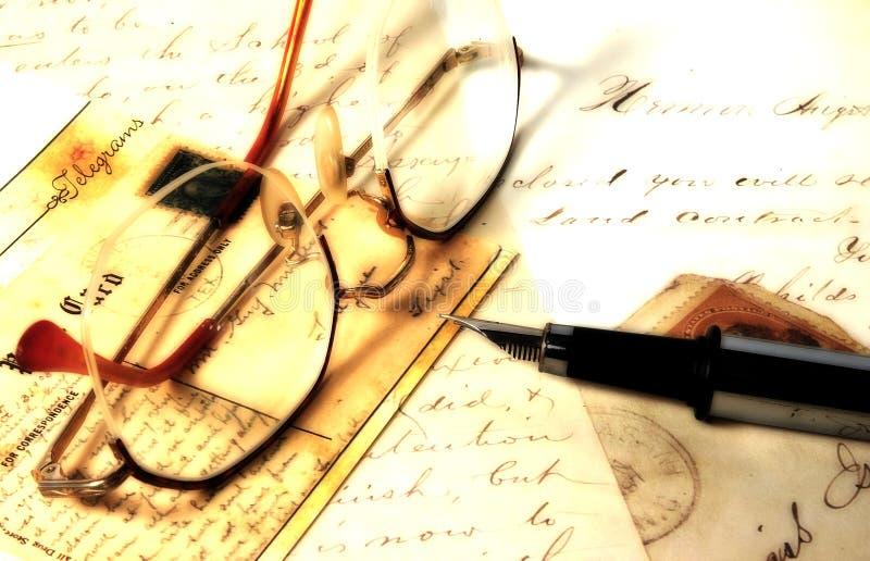 Download Letters gammalt arkivfoto. Bild av penna, affär, skriv, utgångspunkt - 39790