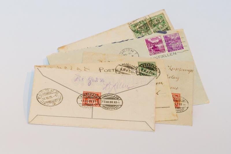 letters gammalt arkivfoto