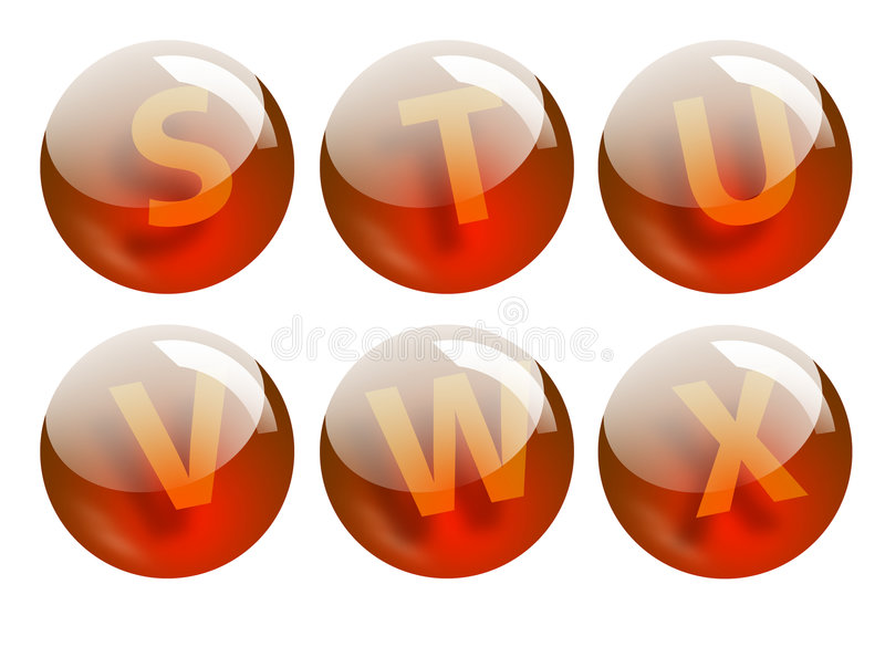 Download Letters spheres stock illustration. Image of ball, popular - 522072
