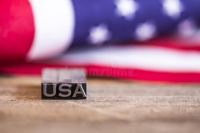 USA American Flag Patriotic Concept royalty free stock photography