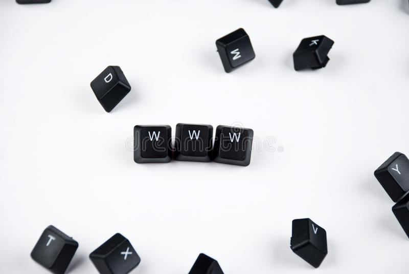 Download Letters Www Stock Images - Image: 12038564