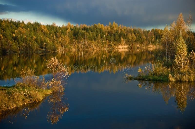 Lettische Landschaft stockbilder