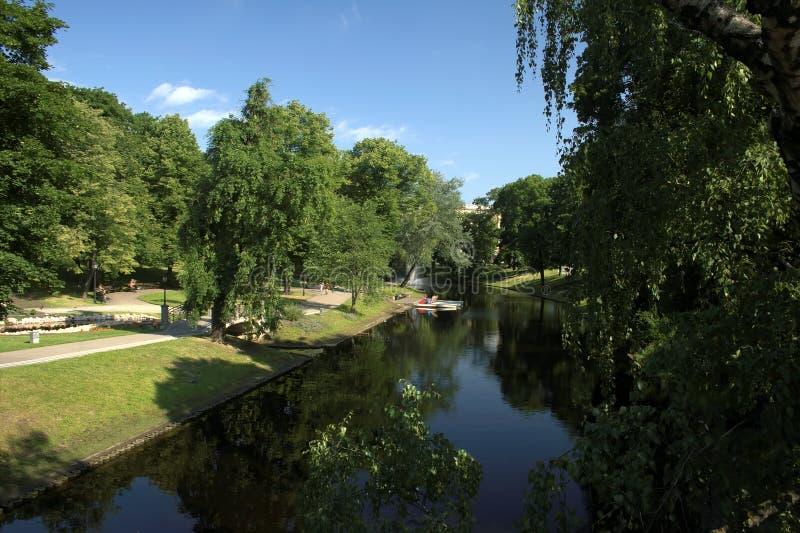 Lettland-Grün. stockbild