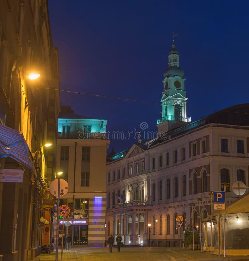 Lettland Riga arkivfoto