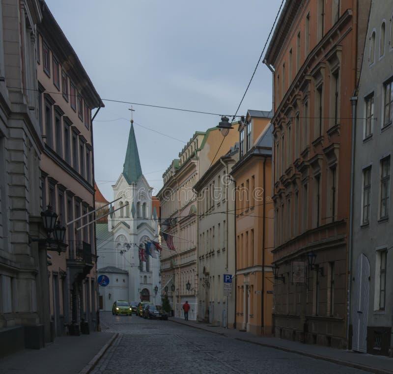 Lettland Riga royaltyfria foton