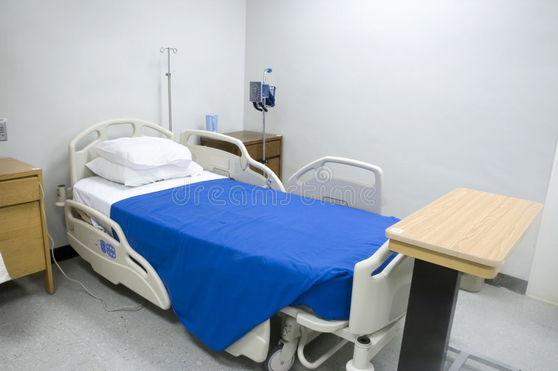 Letto di ospedale 2 immagine stock