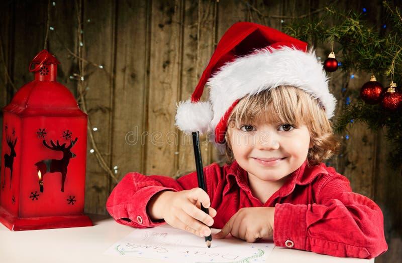 Lettre à Santa images stock