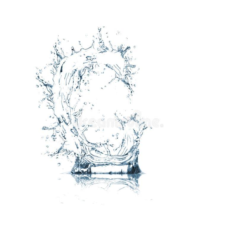 Lettre C d'alphabet de l'eau photos stock