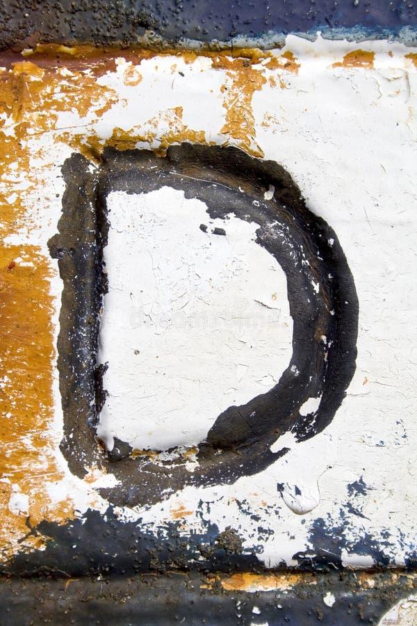 Lettre D images stock