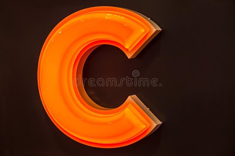 Lettre de C images libres de droits