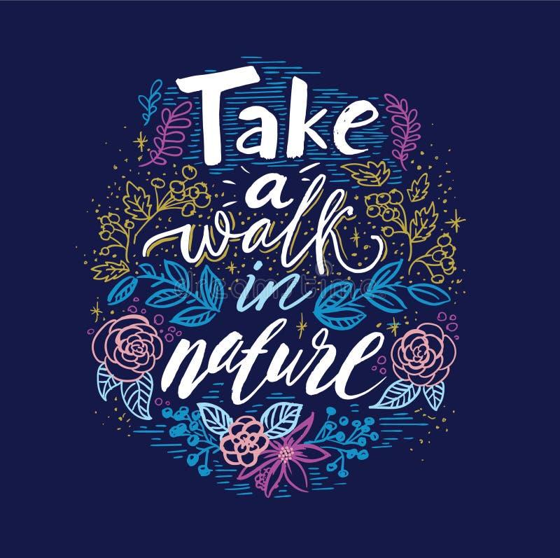 Lettre de ressort avec les feuilles vertes Label de vecteur de vente de saison Lettrage de feuillage Fond floral abstrait Affiche illustration libre de droits